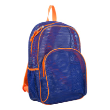 Eastsport Sport Mesh Backpack IndigoOrange