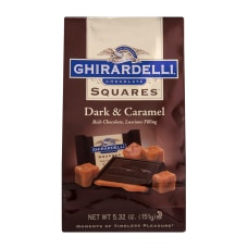 Ghirardelli Dark And Caramel Chocolate Squares