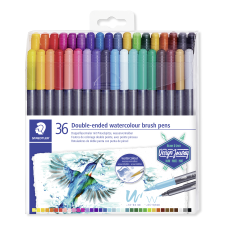 Staedtler Duo Ended Markers Watercolor Brush