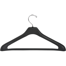 Lorell Suit Hangers Black Pack Of