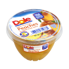 Dole Sliced Peaches In 100percent Fruit
