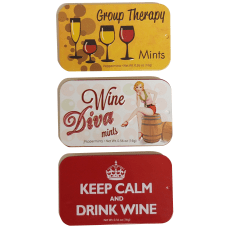 AmuseMints Wine Themed Peppermints 056 Oz