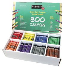 Sargent Art Crayons 3 12 x