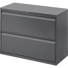 Lorell 42 W Lateral 2 Drawer