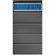Lorell 36 W Lateral 5 Drawer