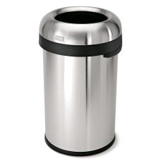 simplehuman Bullet Open Trash Can 21