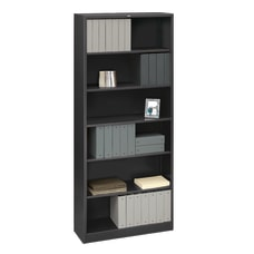 HON Brigade Steel Bookcase 6 Shelves