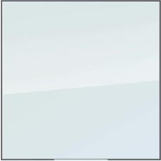 U Brands Glass Dry Erase Whiteboard