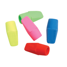 JR Moon Pencil Co Cap Erasers