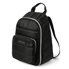 Arctic Zone Quilted Backpack Black