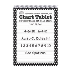 Top Notch Polka Dot Chart Tablets