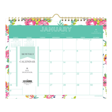 Day Designer Monthly Wall Calendar 11