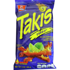 Takis Fuego Rolled Tortilla Chips Hot