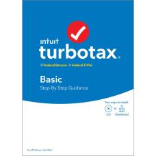 TurboTax 2019 Basic Federal EFile Download