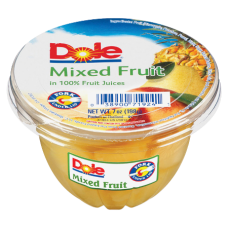 Dole Fruit Cups Mixed Fruit 7