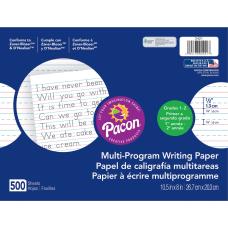 Pacon Multi Program Handwriting Papers Grade