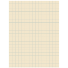 Pacon Quadrille Ruled Heavyweight Drawing Paper