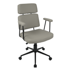 LumiSource Sigmund Office Chair Gray
