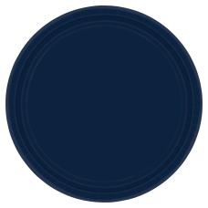 Amscan Round Paper Plates 7 True