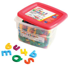 AlphaMagnets MathMagnets Assorted Colors Pack Of