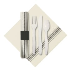 CaterWrap Pre Rolled Cutlery FashnPoint Dishtowel