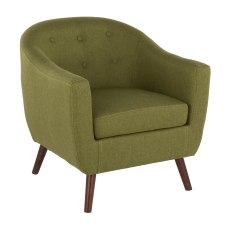 LumiSource Rockwell Accent Chair BrownGreen