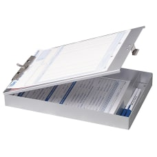 OIC Aluminum Storage Clipboard Form Holder