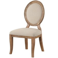 Powell Maurice Side Chairs BrownNatural Set