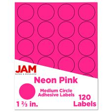 JAM Paper Circle Labels 1 58