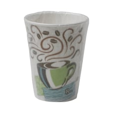 Dixie PerfecTouch Insulated Paper Cups 8