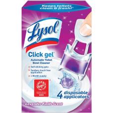 Lysol Click Lavender Toilet Cleaner Gel
