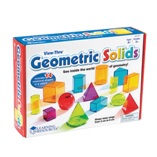 Learning Resources View Thru Geometric Solids