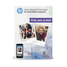HP Social Media Snapshots Sticky Back