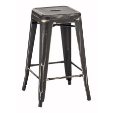 Zuo Modern Marius Counter Stools Antique