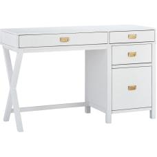 Linon Ari 48 W Desk With
