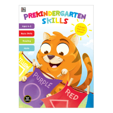Thinking Kids Prekindergarten Skills Workbook Preschool