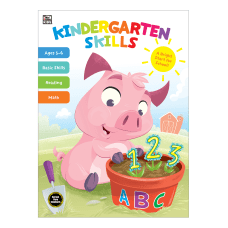 Thinking Kids Kindergarten Skills Workbook