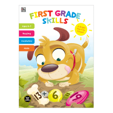 Thinking Kids First Grade Skills Workbook