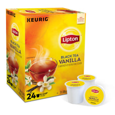 Lipton Black Tea Vanilla Single Serve