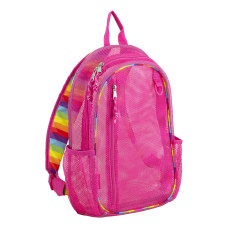Eastsport Sport Mesh Backpack Striped English
