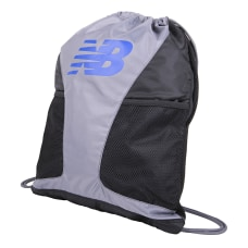 New Balance Players Cinch Sack Gunmetal