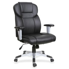 Lorell Bonded Leather High Back Executive