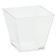 Amscan Mini Plastic Cubed Bowls 3