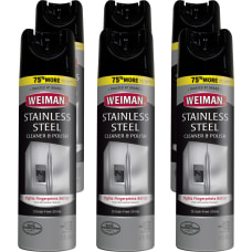 Weiman Products Stainless Steel CleanerPolish Aerosol