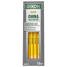 Dixon Phano China Markers Yellow Box