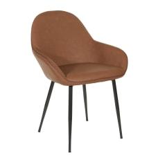 Office Star Piper Chair SaddleBlack