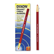 Dixon Phano China Markers Red Box