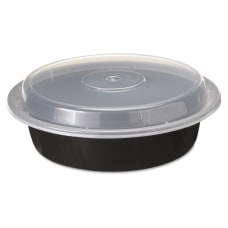 Pactiv VERSAtainer Containers 24 Oz BlackClear