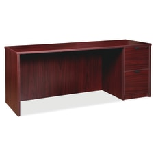 Lorell Prominence 20 Right Pedestal Credenza