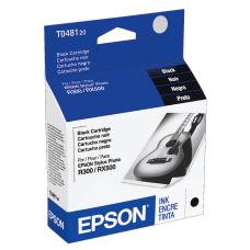 Epson T0481 T048120 Black Ink Cartridge